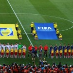 during the 2014 FIFA World Cup Brazil Final match between Germany and Argentina at Maracana on July 13, 2014 in Rio de Janeiro, Brazil.